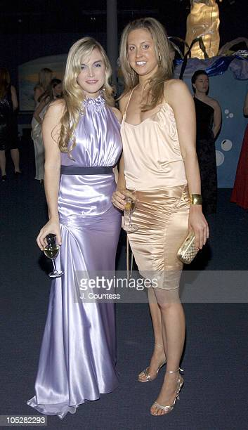 Tinsley Mortimer and Joanna Baker during American Museum of Natural History Winter Dance 2004 at American Museum of Natural History in New York City...