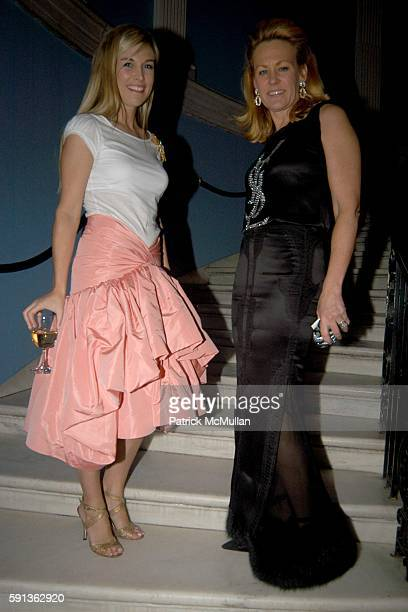 Tinsley Mortimer and Muffie Potter Aston attend The Director's Council of the Museum of the City of New York Winter Ball Sponsored by Yves Saint...