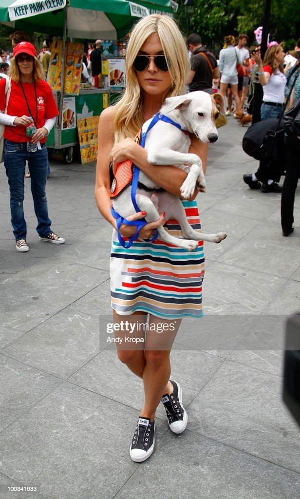 969e049cdb Tinsley Mortimer and Peanut the dog attend the Adoptapalooza pet ...