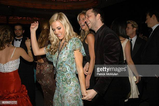 Tinsley Mortimer Annelise Peterson and Derek Blasberg attend The Friends of New Yorkers For Children New Years in April A Fool's Fete Sponsored by...