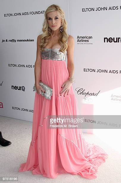 Tinsley Mortimer arrives at the 18th annual Elton John AIDS Foundation's Oscar Viewing Party held at the Pacific Design Center on March 7 2010 in Los...