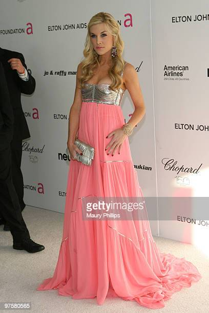 Tinsley Mortimer arrives at the 18th annual Elton John AIDS Foundation Oscar Party held at Pacific Design Center on March 7 2010 in West Hollywood...