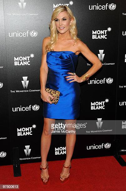 Tinsley Mortimer arrives at the Montblanc Charity Cocktail hosted by The Weinstein Company to benefit UNICEF held at Soho House on March 6 2010 in...