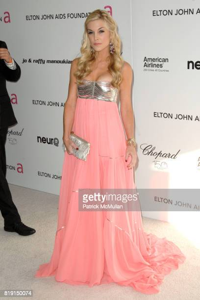 Tinsley Mortimer attends 18th Annual ELTON JOHN AIDS Foundation Oscar Party at Pacific Design Center on March 7 2010 in West Hollywood California