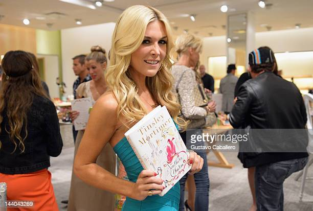 Tinsley Mortimer attends a book debut celebration for Southern Charm at Neiman Marcus on May 8 2012 in Coral Gables Florida