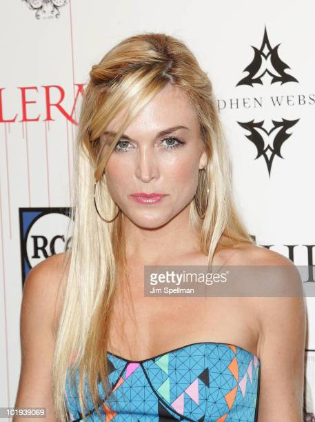 Tinsley Mortimer attends Christina Aguilera's Bionic album release party at Avenue on June 9 2010 in New York City