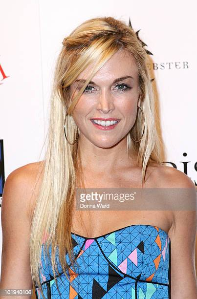 Tinsley Mortimer attends Christina Aguilera's 'Bionic' album release party presented by Steven Webster at Avenue on June 9 2010 in New York City