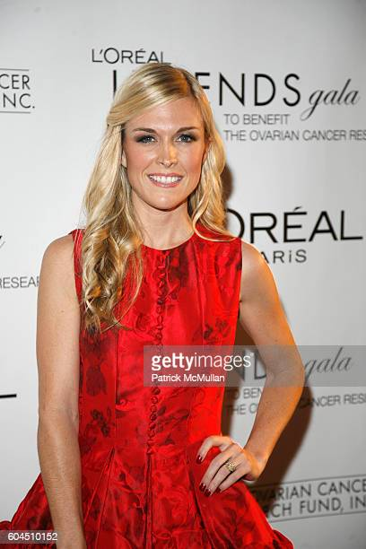 Tinsley Mortimer attends L'OREAL Legends Gala Benefiting The Ovarian Cancer Research Fund at The American Museum Of Natural History on November 8 2006