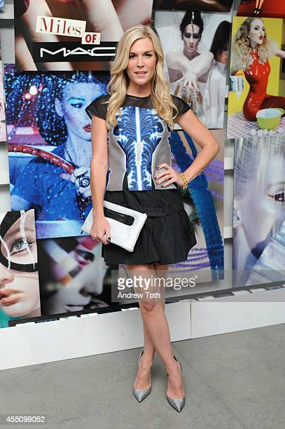 Tinsley Mortimer attends MAC Cosmetics and Miles Aldridge celebrate NYC Rizzoli book launch Miles Of MAC at Steven Kasher Gallery on September 9 2014...