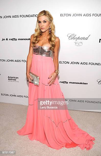 Tinsley Mortimer attends the 18th Annual Elton John AIDS Foundation Academy Award Party at Pacific Design Center on March 7 2010 in West Hollywood...