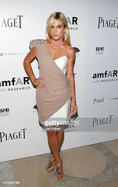 Tinsley Mortimer attends the 2010 amfAR New York Inspiration Gala at The New York Public Library on June 3 2010 in New York New York