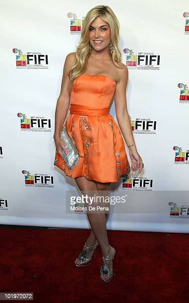 Tinsley Mortimer attends the 2010 Fifi Awards at the New York State Armory on June 10 2010 in New York City
