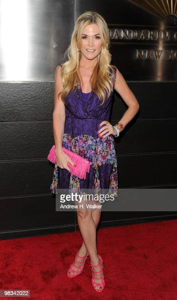 Tinsley Mortimer attends the 7th Annual New Yorkers for Children Spring Dinner Dance at the Mandarin Oriental Hotel on April 8 2010 in New York City