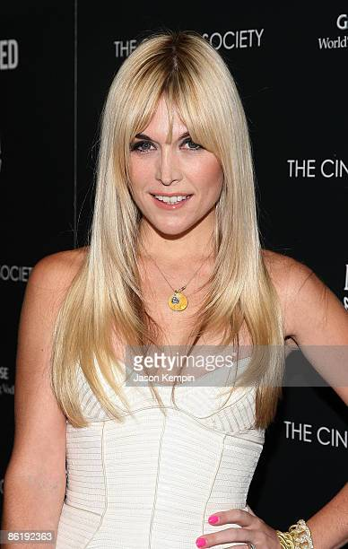 """Tinsley Mortimer attends the Cinema Society and MCM screening of """"Obsessed"""" at the School of Visual Arts on April 23, 2009 in New York City."""
