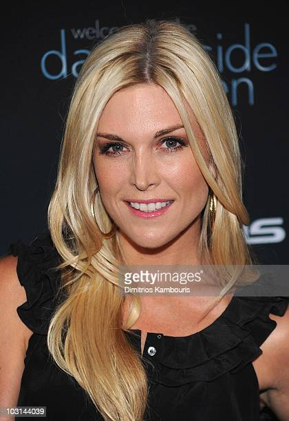 Tinsley Mortimer attends The Darker Side of Green debate series moderated by Tracey Morgan at The Bowery Hotel on July 27 2010 in New York City