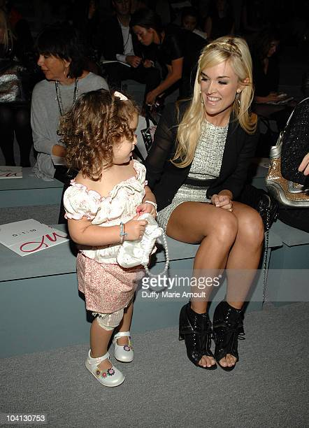 Tinsley Mortimer attends the Milly by Michelle Smith Spring 2011 fashion show during Mercedes-Benz Fashion Week at The Stage at Lincoln Center on...