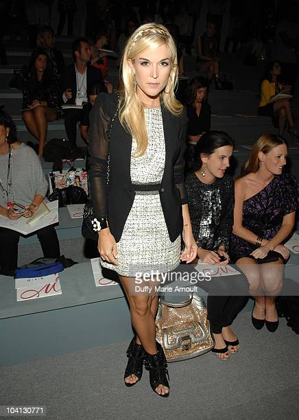 Tinsley Mortimer attends the Milly by Michelle Smith Spring 2011 fashion show during MercedesBenz Fashion Week at The Stage at Lincoln Center on...