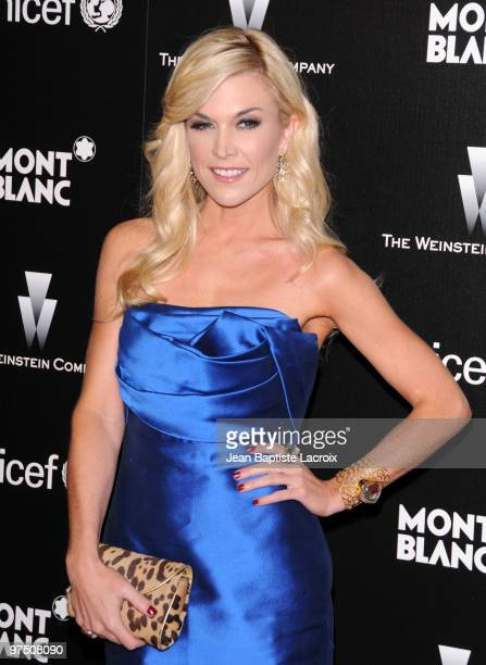 Tinsley Mortimer attends the Montblanc Charity Cocktail hosted by the Weinstein Company to benefit UNICEF at Soho House on March 6 2010 in West...