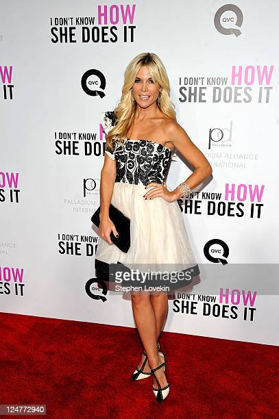 Tinsley Mortimer attends the premiere of The Weinstein Company's I Don't Know How She Does It sponsored by QVC Palladium Jewelry at AMC Lincoln...