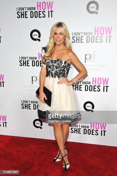Tinsley Mortimer attends the premiere of The Weinstein Company's I Don't Know How She Does It Premiere sponsored by QVC Palladium Jewelry at AMC...