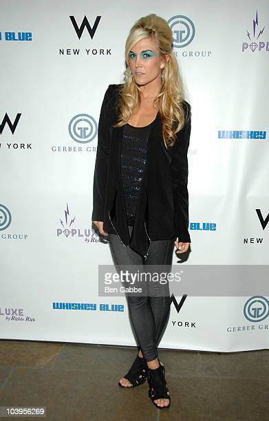 Tinsley Mortimer attends the Richie Rich Fashion Week AfterParty at Whiskey Blue at W New York on September 9 2010 in New York City
