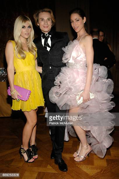 Tinsley Mortimer Austin Scarlett and Tara Stiles attend Frick Collection Young Fellows Ball at Frick Collection on February 26 2009 in New York City