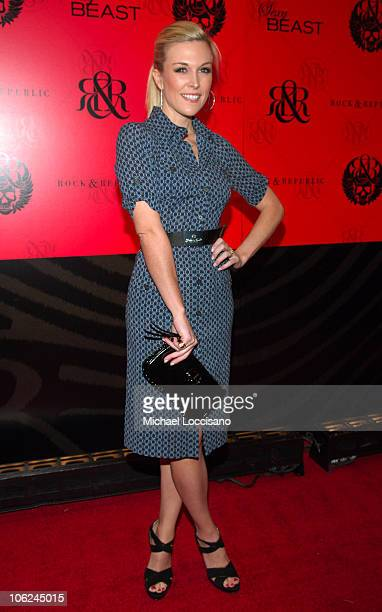 Tinsley Mortimer during MercedesBenz Fashion Week Fall 2007 Rock Republic Arrivals and Front Row at Cipriani in New York City New York United States