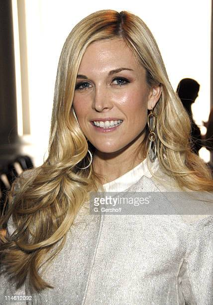 Tinsley Mortimer during MercedesBenz Fashion Week Fall 2007 Vera Wang Front Row and Backstage at The Tent Bryant Park in New York City New York...