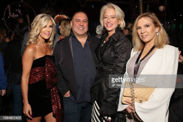 Tinsley Mortimer guest Dorinda Medley and Ramona Singer attend the opening night of the Big Apple Circus at Lincoln Center on October 28 2018 in New...