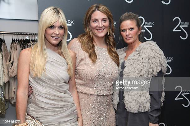 Tinsley Mortimer Owner of 25 Park Alison Brettschneider and fashion designer Robin Brouillette attend the Grand Opening of 25 Park Flagship Store at...