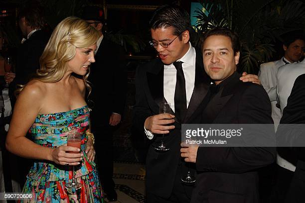 Tinsley Mortimer Peter Som and Alvin Valley attend Dolce Vita A Venezia an evening celebrating Italian Glamour of the 1950s at Cipriani 42nd Street...