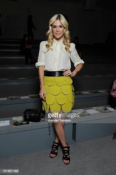 Tinsley Mortimerattends the Milly By Michelle Smith show during Spring 2013 Mercedes-Benz Fashion Week at The Stage Lincoln Center on September 12,...