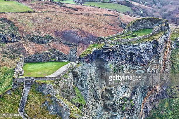 Tintagel Castle Ruins, Cornwall, UK