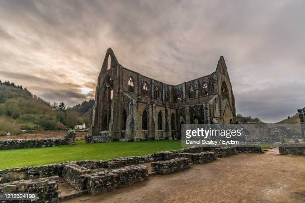 tintern abbey,  wales - decline stock pictures, royalty-free photos & images