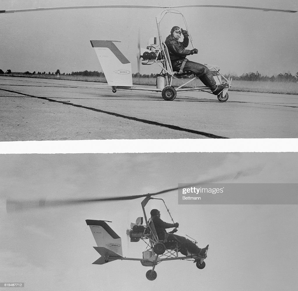 Igor benson flying a helicopter pictures getty images a tiny helicopter which almost anyone can build from a do it yourself kit solutioingenieria Images
