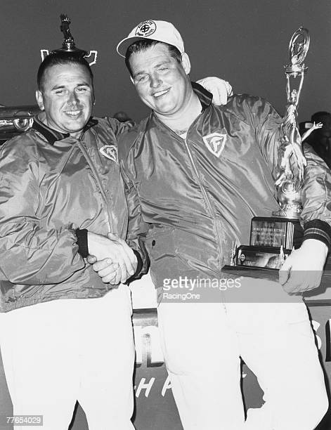 Tiny Lund was a lastminute substitute for the Wood Brothers team after their regular driver Marvin Panch was injured in an earlier crash In storybook...
