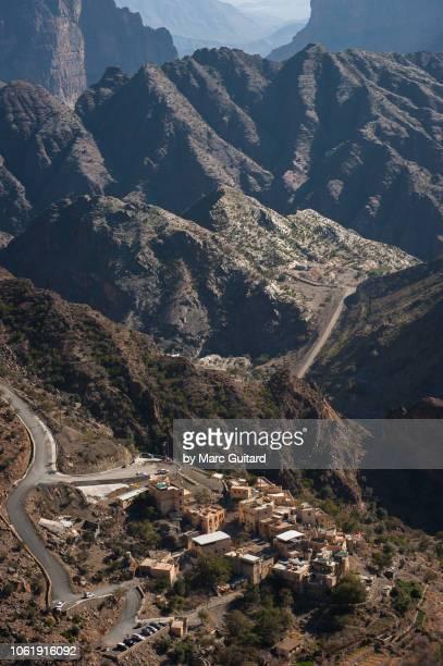 Tiny mountain village, Jebel Akhdar, Oman
