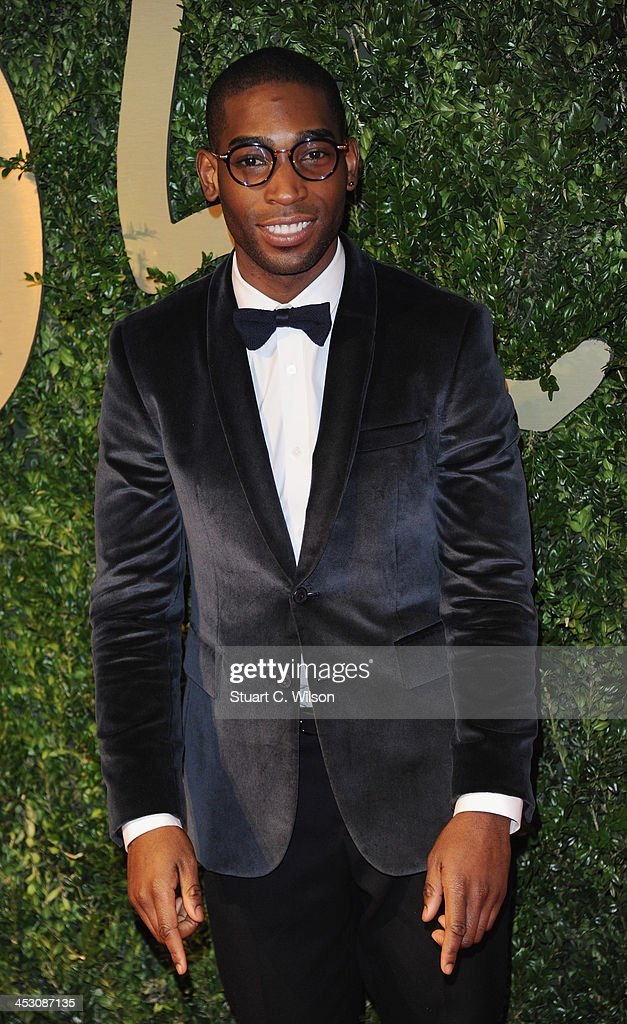 Tiny Tempah attends the British Fashion Awards 2013 at London Coliseum on December 2, 2013 in London, England.