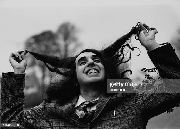 Tiny Tim on tour 1968 in Germany American pop musician