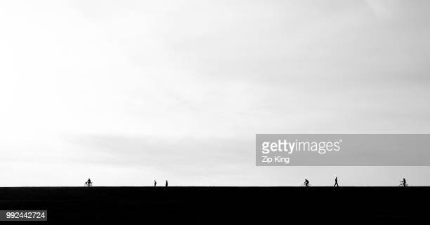 tinyman - horizon over land stock pictures, royalty-free photos & images