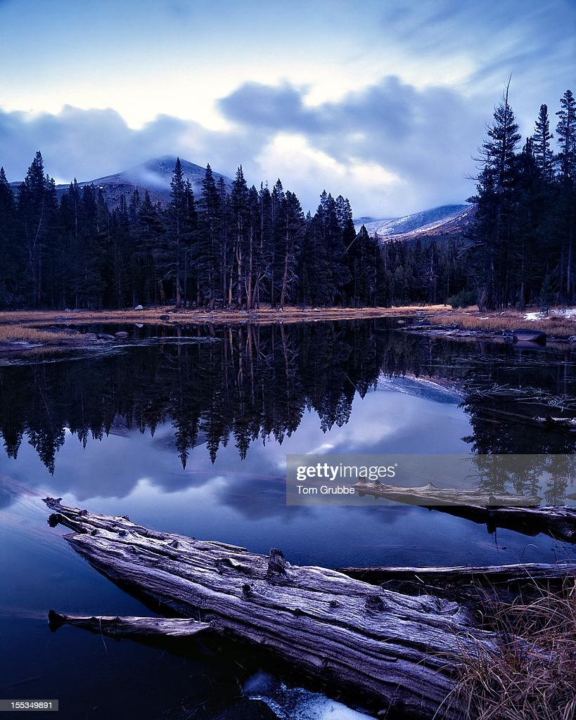 Tioga Pass Lake Reflection : Stock Photo