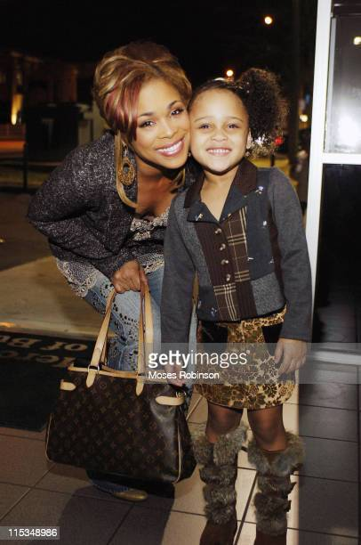 Tionne T Boz Watkins of TLC with Her Daughter Chase