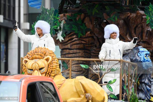 Tionne TBoz Watkins and Rozonda Chilli Thomas of TLC attend the 93rd Annual Macy's Thanksgiving Day Parade on November 28 2019 in New York City