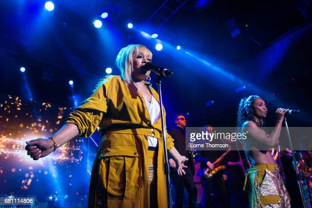 Tionne 'TBoz' Watkins and Rozonda 'Chilli' Thomas of TLC perform at KOKO on May 9 2017 in London England
