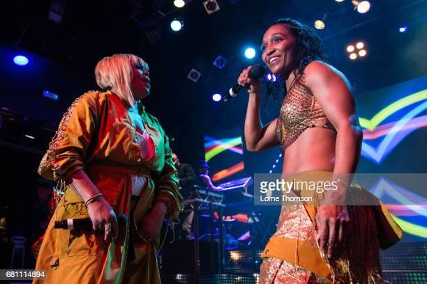 Tionne TBoz Watkins and Rozonda Chilli Thomas of TLC perform at KOKO on May 9 2017 in London England