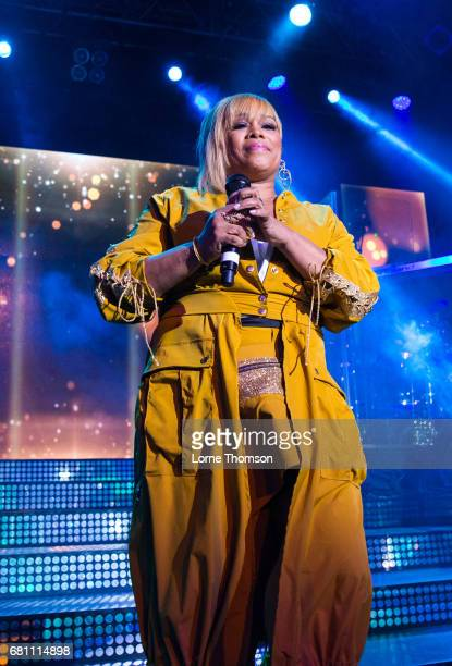 Tionne TBoz Watkins of TLC performs at KOKO on May 9 2017 in London England