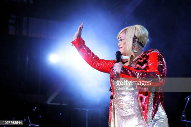 Tionne 'TBoz' Watkins of TLC performs onstage at the GRAMMY Celebration during the 61st Annual GRAMMY Award at Staples Center on February 10 2019 in...