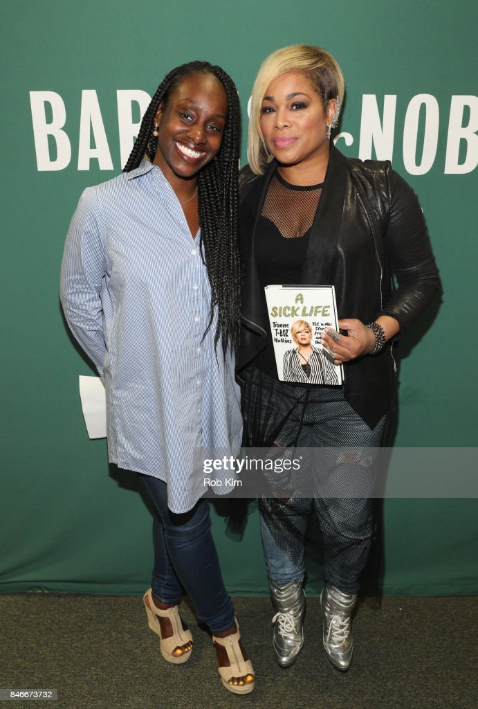 Tionne 'T-Boz' Watkins promotes her new book, 'A Sick Life: TLC 'n Me: Stories From On And Off The Stage' at Barnes & Noble Union Square on September 13, 2017 in New York City.
