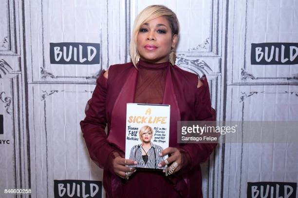 Tionne TBoz Watkins visits Build Presents to discuss her new book A Sick Life TLC 'n Me Stories From On And Off The Stage at Build Studio on...
