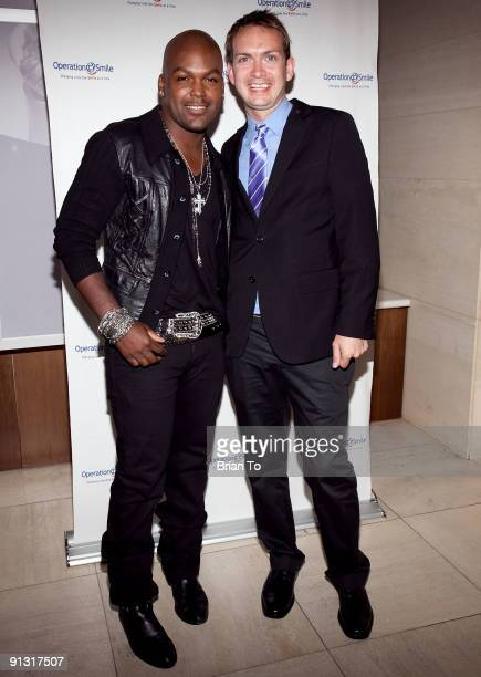 Tionne Williams and Michael Dean Shelton attend 8th Annual Operation Smile Pre-Gala Kick-Off Reception at Lladro Boutique on October 1, 2009 in...